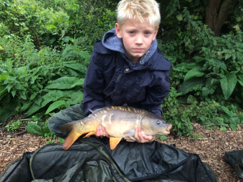 Junior Carp Fishing Suffolk Water Park